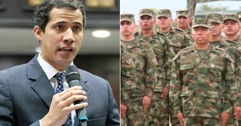 YA CANSA | Guaidó le pide al ejército que expulse a los invasores y liberen a Venezuela