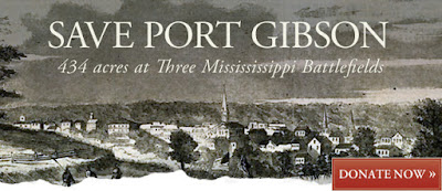 Mississippi: Port Gibson Battlefield at Risk!