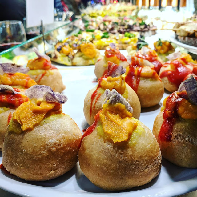 One Week Bilbao Itinerary: pintxos on Plaza Nueva