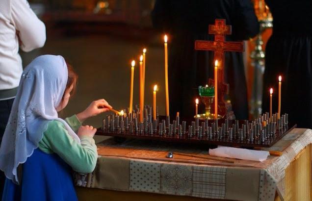 Молитва детей об усопших родителях. Светлая память!