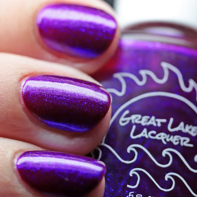 Great Lakes Lacquer Washed In Magenta v2