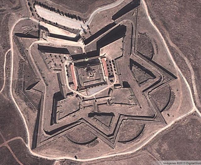 Estructura de las murallas Elvas
