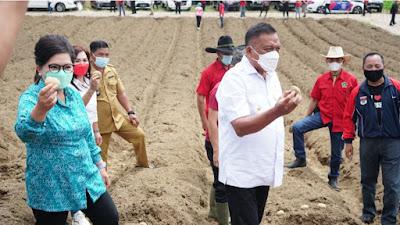 Capaian Program Unggulan Komoditi Pertanian Sulut Tetap Survive