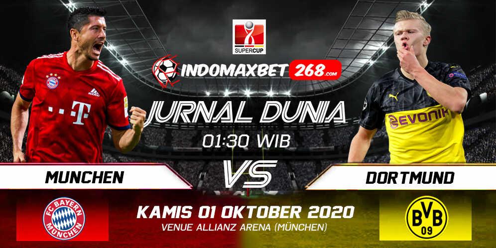 Prediksi Bayern Munchen Vs Borussia Dortmund 01 Oktober 2020 Pukul 01.30 WIB