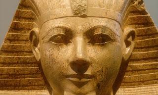 Hatshepsut's statue  face