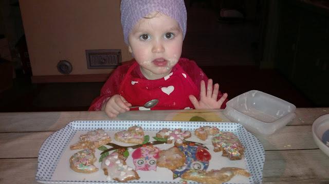 pikkuleivät koristelu