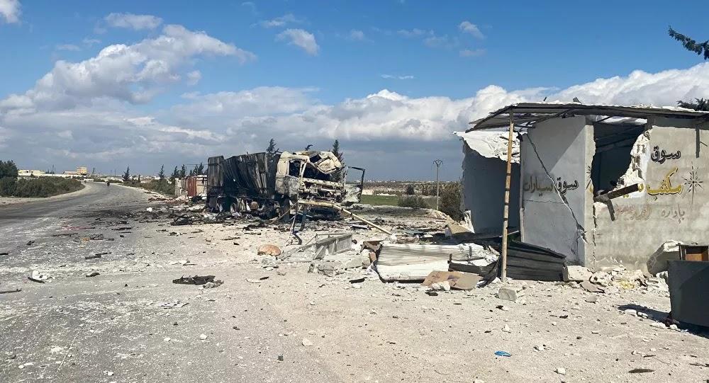 Moyen-Orient : Des civils entraînés dans des tournages de faux bombardements en Syrie, selon la Défense russe