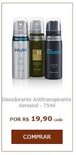 Seu perfume Natura preferido em Aerossol Ecocompacto