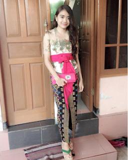 Model Baju Kebaya Bali Modifikasi