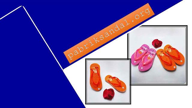 Pabrik Sandal Spon Termurah | Sandal Jepit Hellokitty Press Baby