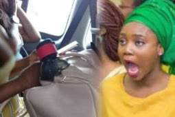 Lady's Bre-ast Spills Out Of Her Dress In A Public Bus In Lagos And Man Takes Her Photo And Shares Online