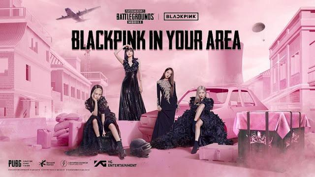 PUBG Mobile x Blackpink Event collaboration with Korean music band BLACKPINK