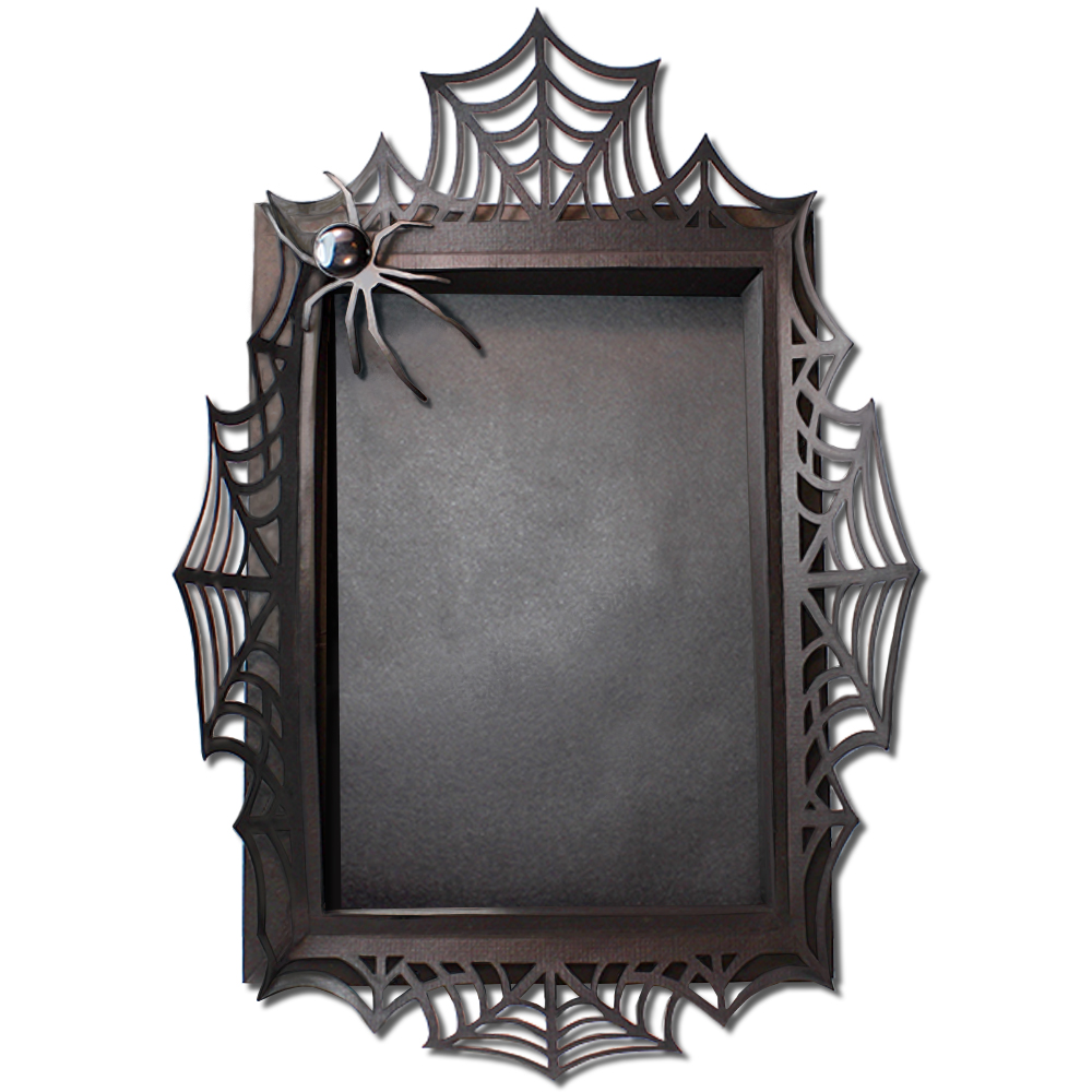 JMRush Designs: 3D Spider Web Photo Frame 4X6