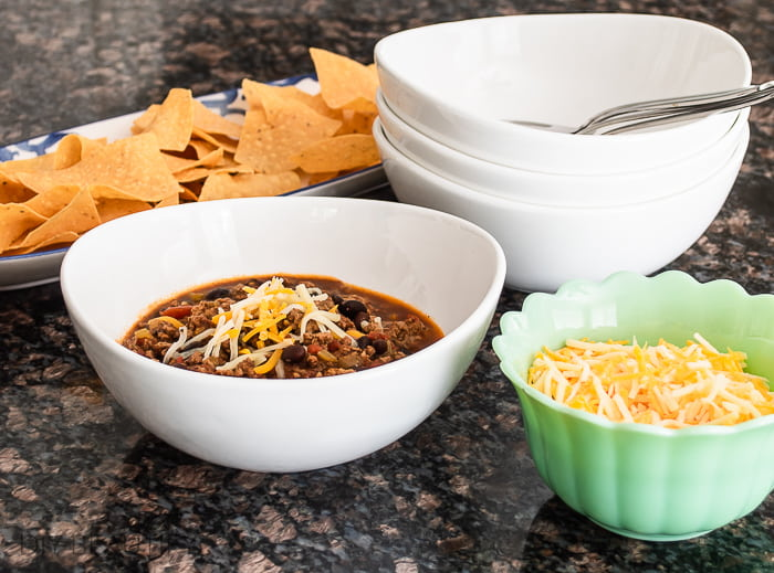 chili toppings