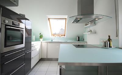Arbeitsplatte Küche Glas