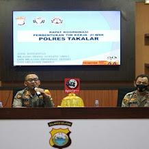 Menuju ZI-WBK, Kapolres Takalar Bentuk Tim Pembangunan Zona Integritas WBK