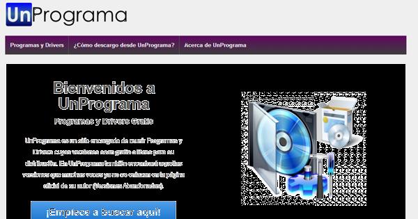 UnPrograma, Nuevo sitio de descargas
