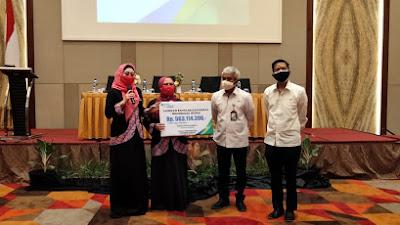 Anggota IPEMI Padang Terima Santunan Rp500 Juta dari BPJSTK