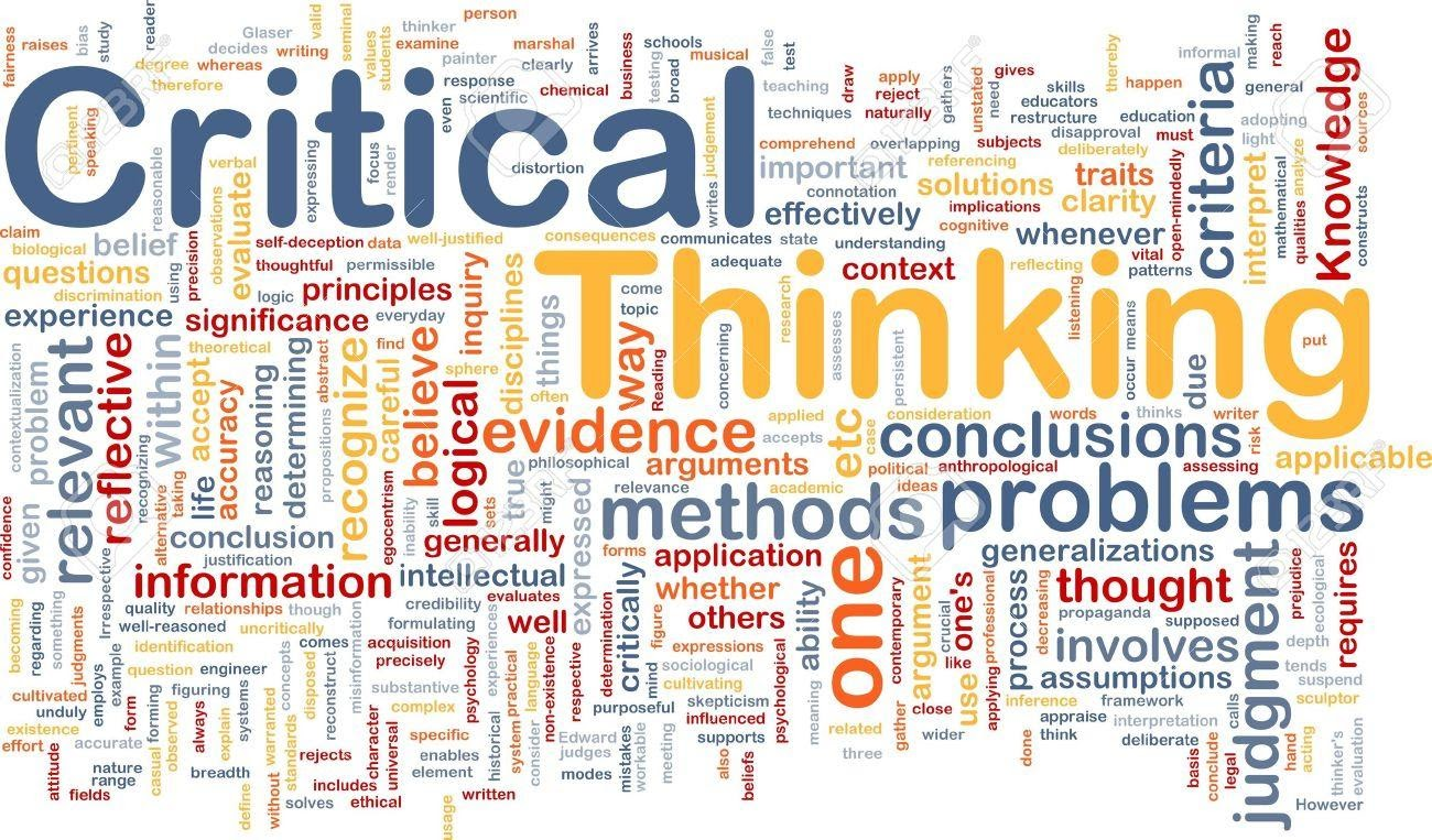 categories of critical thinkers