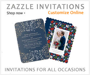shop zazzle invitations