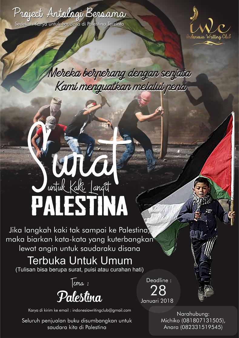 Surat Untuk Kaki Langit Palestina (Umum)