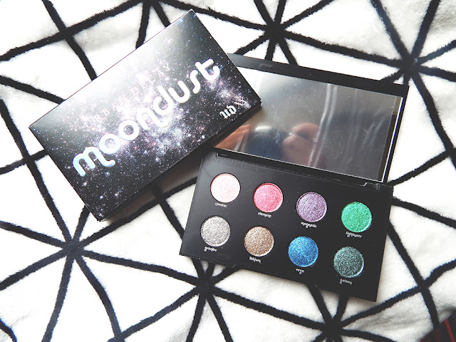Urban Decay Moondust Palette inner and outer packaging