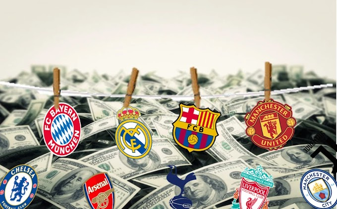 10 richest football clubs in 2020 according to Forbes