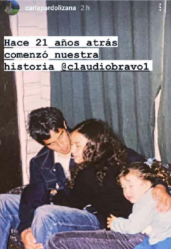 Carla Pardo recordó sus 21 años junto a Claudio Bravo