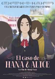 """Hana y Alice"" de Shunji Iwai"