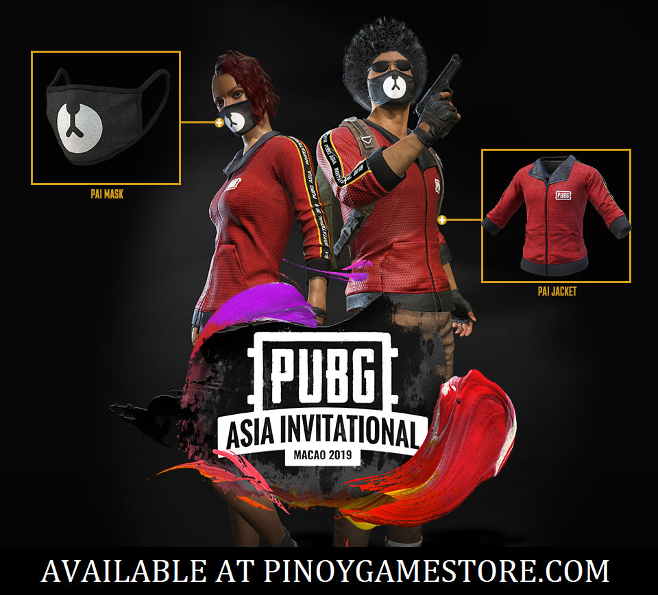 Pubg Pai Mask And Pai Jacket Pinoy Game Store Online