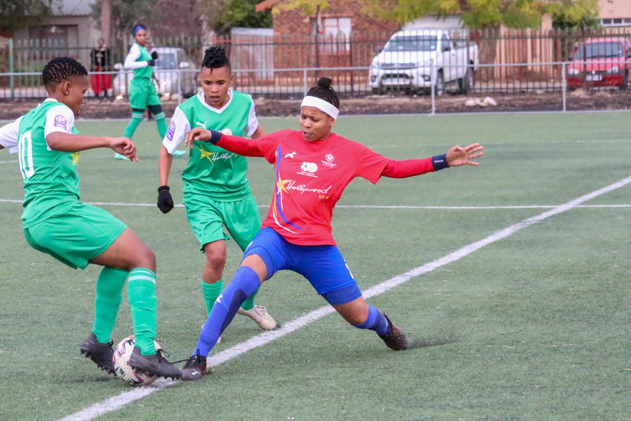 TUT Ladies in action against Golden Ladies