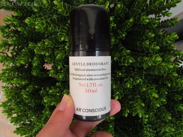 deodorant hm conscious