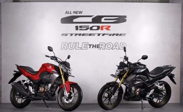 All New CB150R Streetfire 2021