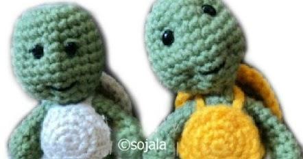 Amigurumi Turtle Pattern : Little bigfoot turtle free crochet pattern amigurumi to go