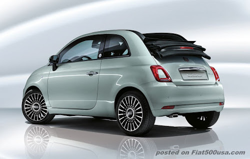 Fiat 500c Hybrid Launch Edition