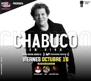 Concierto de CHABUCO LIVE  ¡Desde el Movistar Arena!