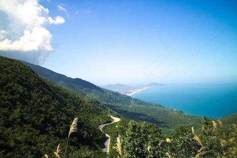 Voyage en moto au col Hai Van