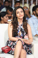 Kyra Dutta in a Deep neck Small Dress at Shamanthakamani pre release function ~  Exclusive 075.JPG