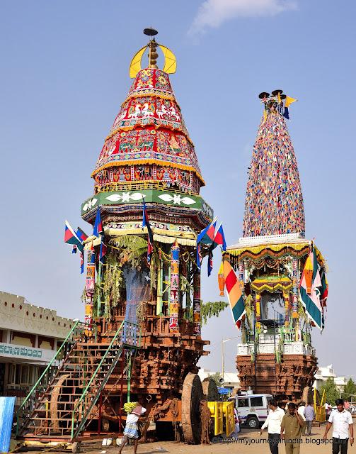 Chariots at Nanjundeshwara swami Temple