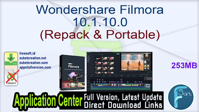 Wondershare Filmora 10.1.10.0 (Repack & Portable)
