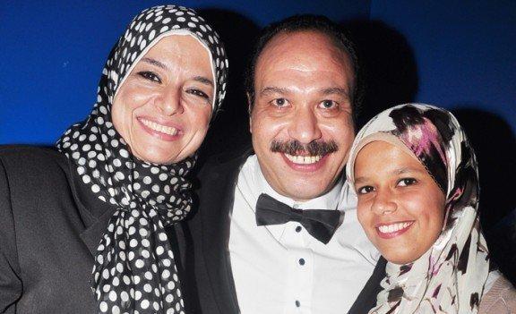 وفاة والدة الفنان أحمد خالد صالح الدكتورة هالة زين
