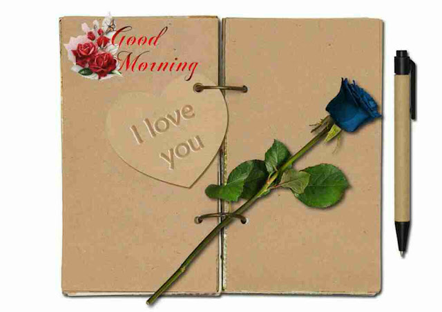 i love you good morning image with heart