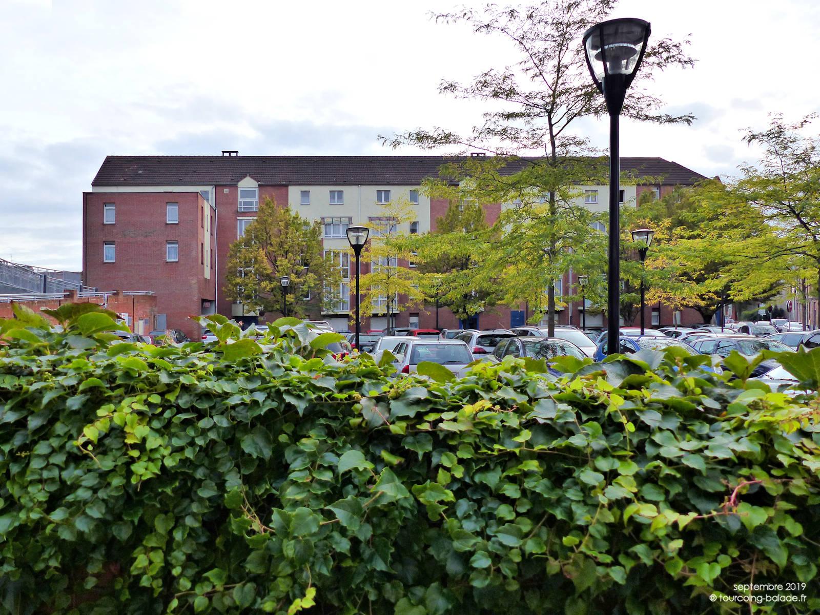 Résidence HLM Ronsard et Parking Lagrange, Tourcoing