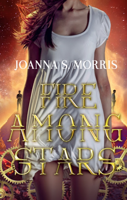 Cover Reveal Packet for Fire Among Stars