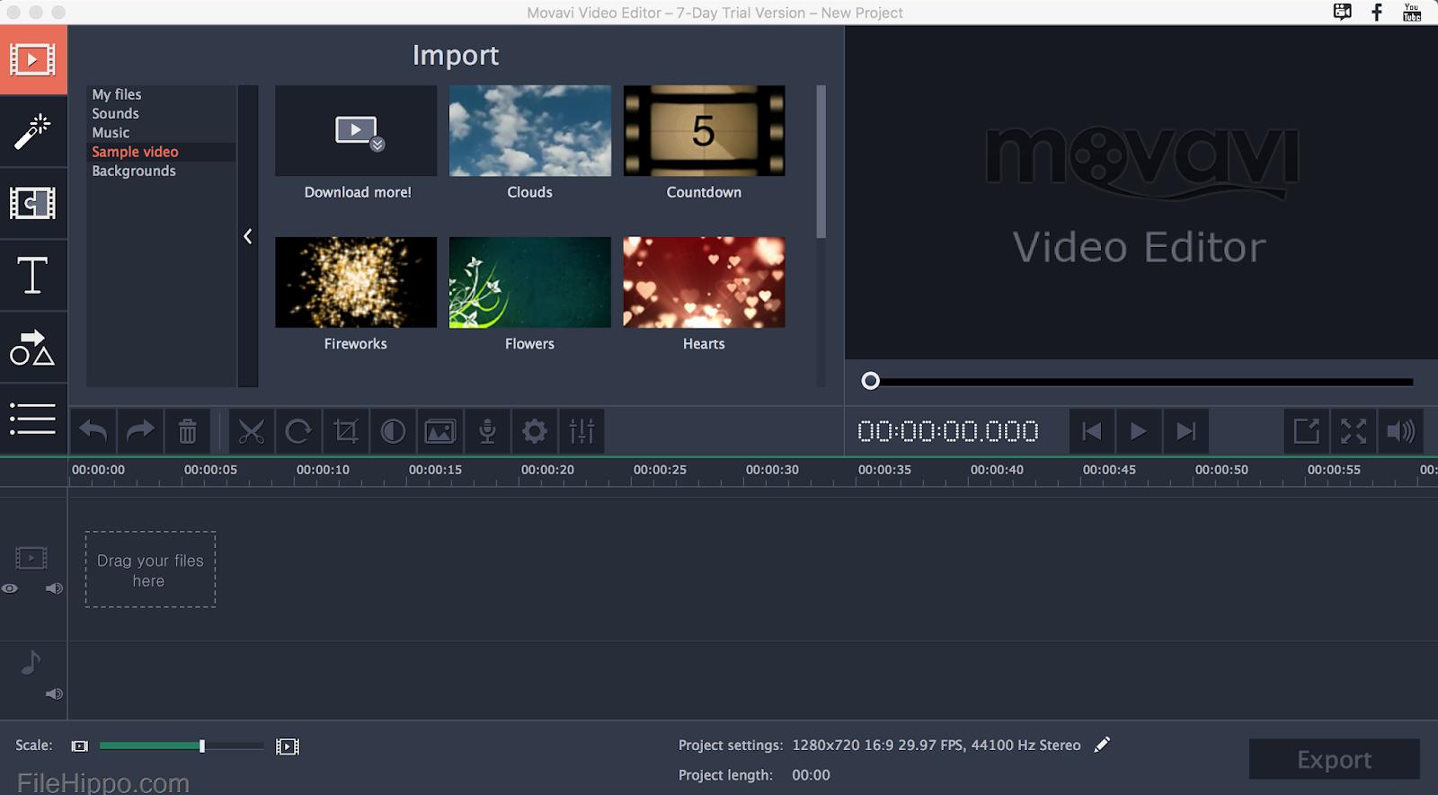 تحميل برنامج movavi video editor 14