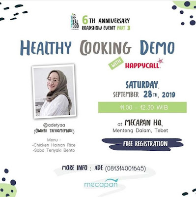 Happycall asli atau palsu acara cooking demo