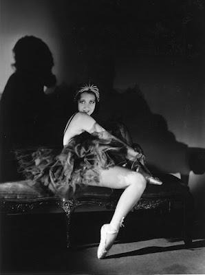 Ann Sothern as ballerina