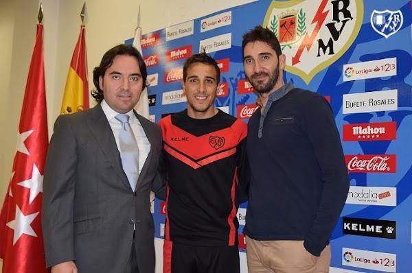 Oficial: El Rayo Vallecano renueva hasta 2020 a Trejo