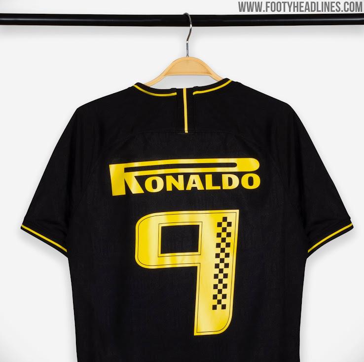 huge selection of c813f f0bcd Unique Pirelli Ronaldo Nike Inter Milan 19-20 Print + Actual ...