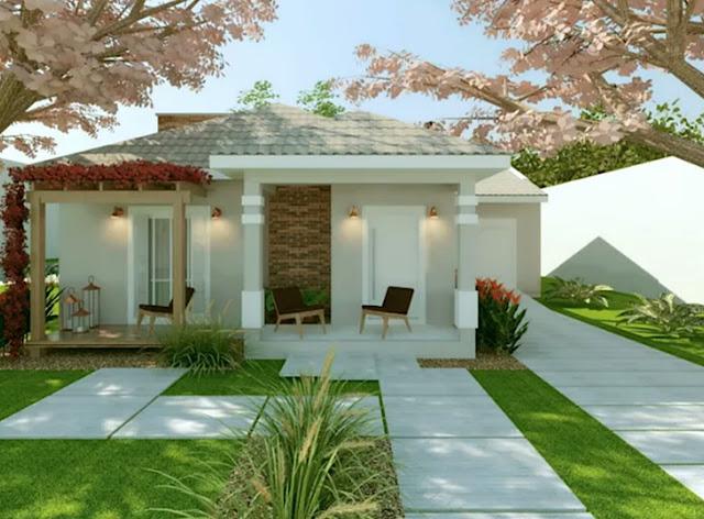 beautiful small house